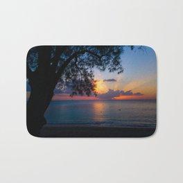 Ocean Island Sunset Bath Mat