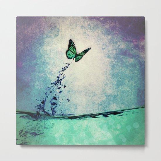 Waterfly Metal Print