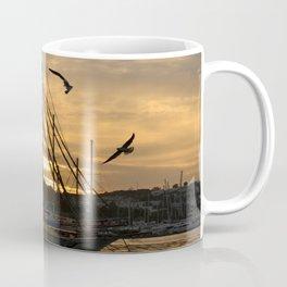 sunset in bodrum Coffee Mug
