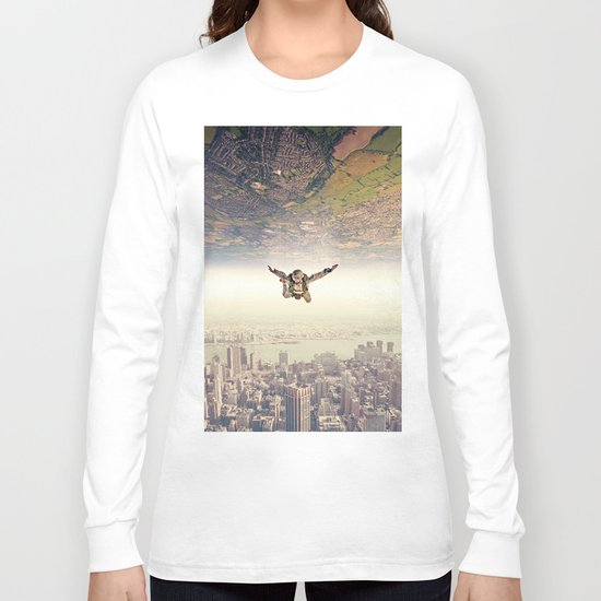Diving to the Parallel Worlds Long Sleeve T-shirt