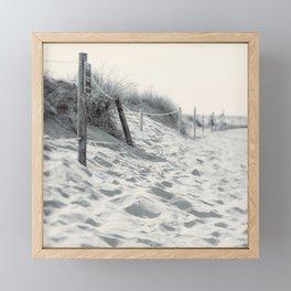 The Sand Between My Toes Framed Mini Art Print