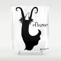 Flounce Shower Curtain