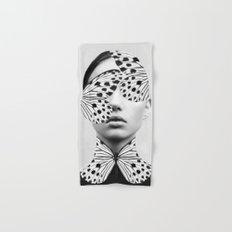 Woman Butterfly Hand & Bath Towel