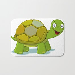 Cartoon Turtle Bath Mat