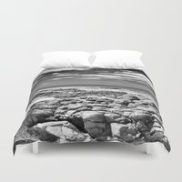 rocky Duvet Covers featuring Rocky OutCrop by Brian Raggatt
