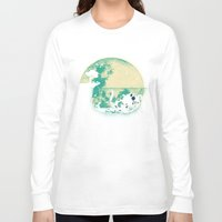 internet Long Sleeve T-shirts featuring The Big One by Jay Fleck