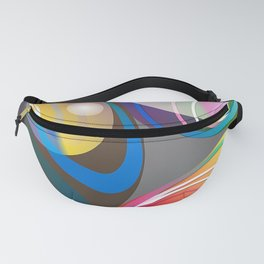 Planetary Rings Fanny Pack