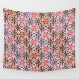 Pink Star Wall Tapestry