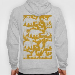 Polar gathering (orange juice) Hoody