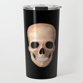 Smiling Skull Travel Mug