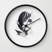 lightning Wall Clocks featuring Lightning by Daniel Bonavita