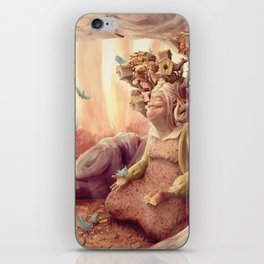 Mme. Colomba iPhone Skin