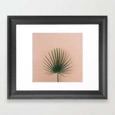 pink botanics Framed Art Print