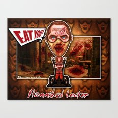 Hannibal Lecter! Canvas Print