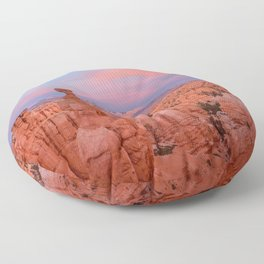 BRYCE CANYON NATIONAL PARK SUNSET UTAH LANDSCAPE Floor Pillow