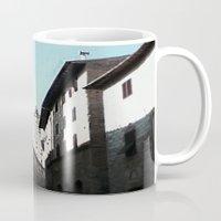 italian Mugs featuring Italian Roofs by WaterAngel42