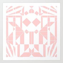 SALMON SHARK Art Print