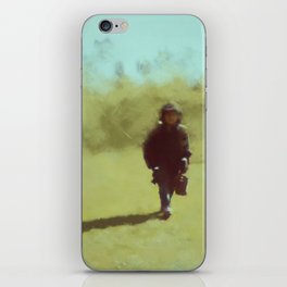 A young soldier - painting by Brian Vegas iPhone Skin