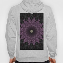 Royal Elegant Purple Mandala Design Hoody