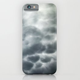 Mammatus Clouds 6 iPhone Case