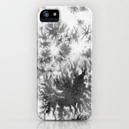 Grey grows and spreading iPhone Case