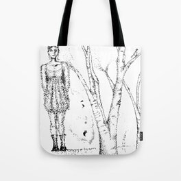 stipples Tote Bag