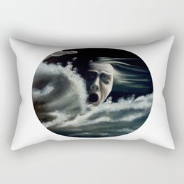 Man overboard Rectangular Pillow
