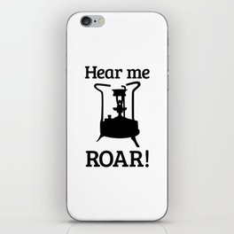 Brass Stove, HEAR ME ROAR iPhone Skin