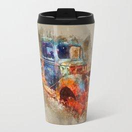 Abandoned Ford Truck Travel Mug