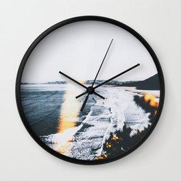 SEASCAPE BURN Wall Clock