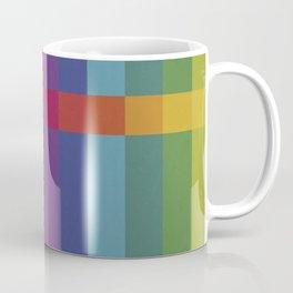 The Color Wheel / Rainbow Stripes Coffee Mug