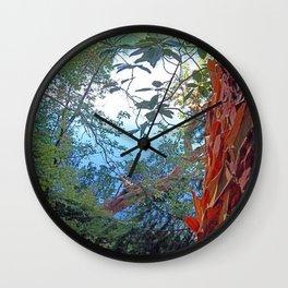 Stripping Beauty Wall Clock