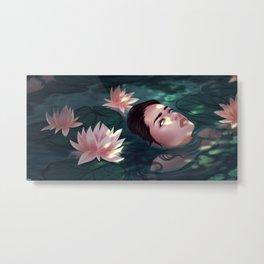 Lily Swamp Metal Print