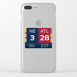 NE 3 ATL 28 Clear iPhone Case