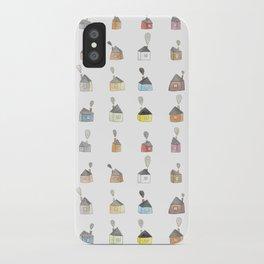 les petites maisons douillettes iPhone Case