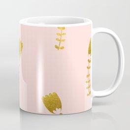 Pink Gold Foil 03 Coffee Mug