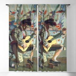 Henri Matisse The Guitarist Blackout Curtain