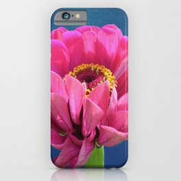 Large Pink Flower iPhone Case