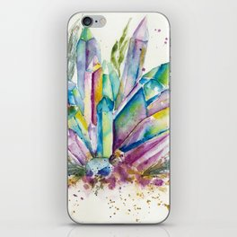 Crystals iPhone Skin