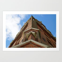 The old lighthouse in Bremerhaven Art Print