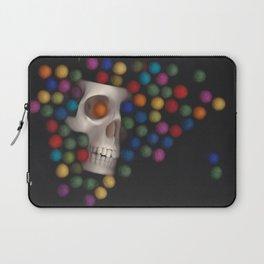 Skull and felt 2 Laptop Sleeve