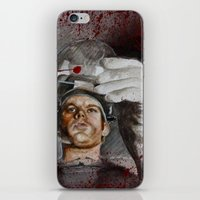 dexter iPhone & iPod Skins featuring Dexter by HevArtScenic