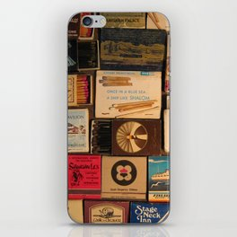 Once In A Blue Sea... A Ship Like Shalom - Zim Matchbox iPhone Skin