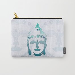 Buddha Head turquoise I Carry-All Pouch