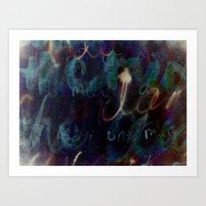 Océan de Terre II Art Print