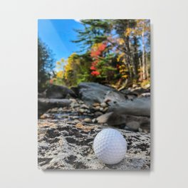 Fall on the Carrabassett (1) Metal Print