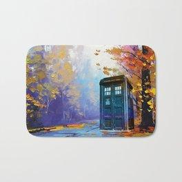 TARDIS PAINTING Bath Mat