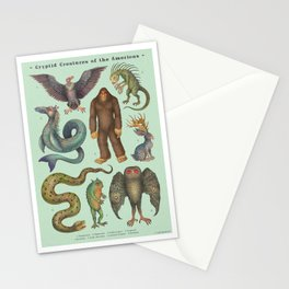 Cryptids of the Americas Stationery Cards