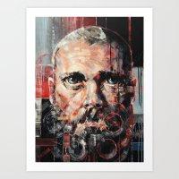 danny ivan Art Prints featuring Ivan by Arthur R Piwko (picpoc)