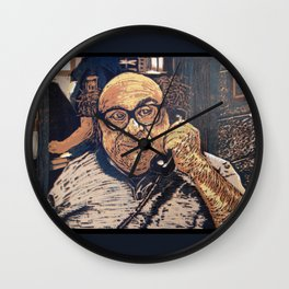 Danny Devito Reduction Print Wall Clock